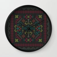 portugal Wall Clocks featuring Portugal by Ana Types Type