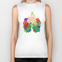 lungs Biker Tanks featuring lungs by Taylor {GANGST★R}