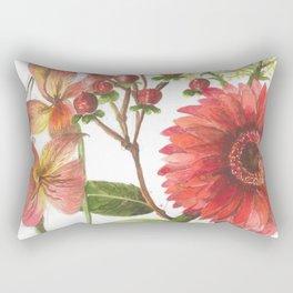 Bodega Berry Floral Rectangular Pillow