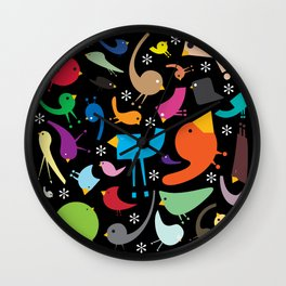 Jolly Jumble Wall Clock