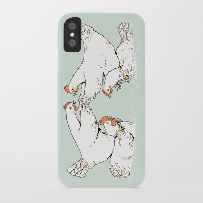 Chicken Fight iPhone Case