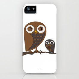 Two Hooters iPhone Case