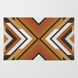 Geometric Art with Bands 09 Rug