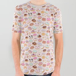 Mmm... Donuts! All Over Graphic Tee