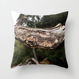 Snakehead Throw Pillow