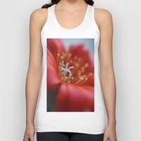 cacti Tank Tops featuring Cacti Flower by Brian Raggatt