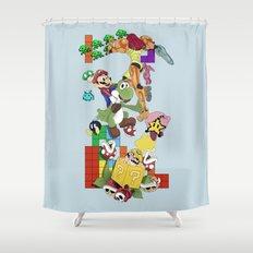 NERD issimo Shower Curtain