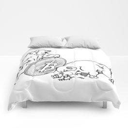 Bitcoin Comforters