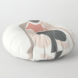 Woman Form IV Floor Pillow