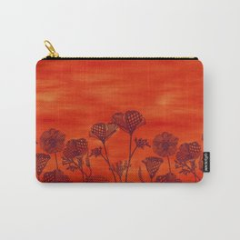 sunset poppy fields Carry-All Pouch