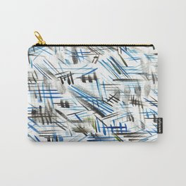 Patchy Blues Carry-All Pouch