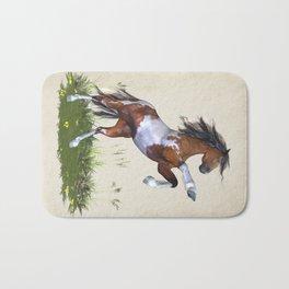Rearing Horse Bath Mat