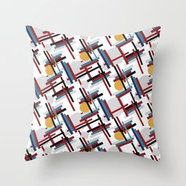 circulos Throw Pillow