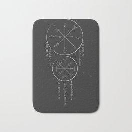 Whisper Of Runes Bath Mat