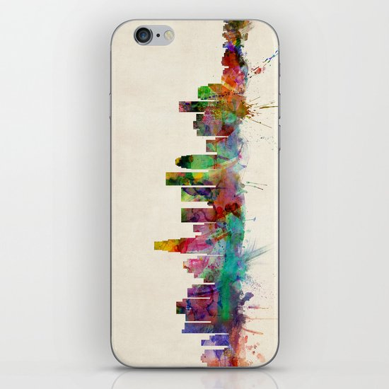 Los Angeles City Skyline iPhone Skin