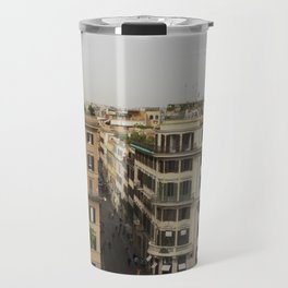 View from the Spanish Steps Travel Mug