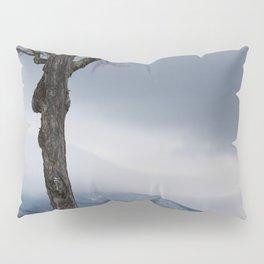 Winter Mountain Fog Pillow Sham