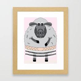 Mr Hipi Framed Art Print