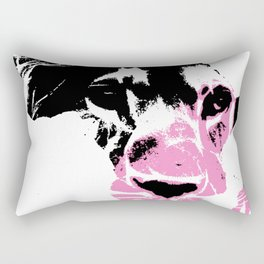 Lion Heart Africa Pink Rectangular Pillow