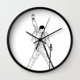 Don't Stop Me Now Wall Clock