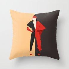 Violet Chachki Throw Pillow