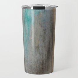 Vintage, Reclaimed Wood With Weathered Paint Travel Mug