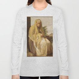 Edgar Degas - The Old Italian Woman Long Sleeve T-shirt