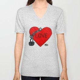 Love on Lockdown Unisex V-Neck