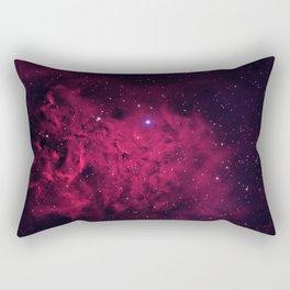 The Flaming Star Nebula Rectangular Pillow