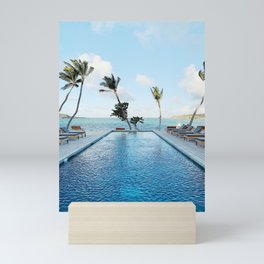 Tropical Vacation Mini Art Print