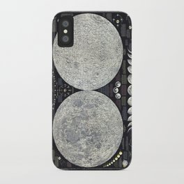 The Earth's Moon Map iPhone Case