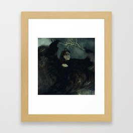 Dark Storm Framed Art Print