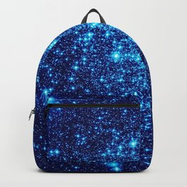Vivid Blue gALaxY Stars Backpack