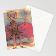 SMOldering racKEt  Stationery Cards