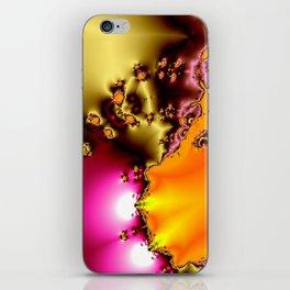 glowing frogs in pool iPhone Skin