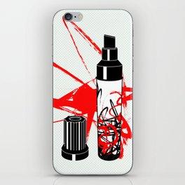 marker iPhone Skin