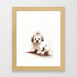 Winny Framed Art Print