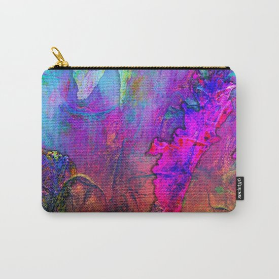 Abstract Texture 02 Carry-All Pouch