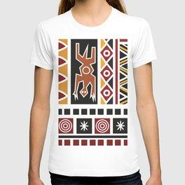African Tribal Pattern No. 48 T-shirt