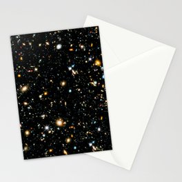 Starry Space Stationery Cards