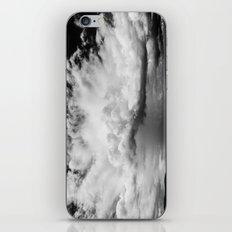 white clouds iPhone & iPod Skin