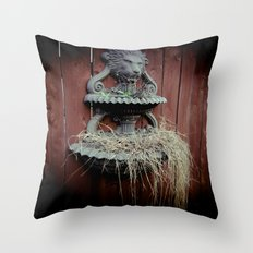A Symbol For The King Throw Pillow