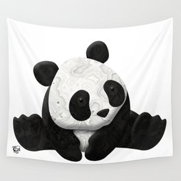 Lace Agate Panda Wall Tapestry