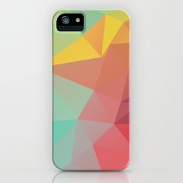 Geometric X iPhone Case