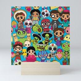 Latinx Pop Culture Mini Art Print