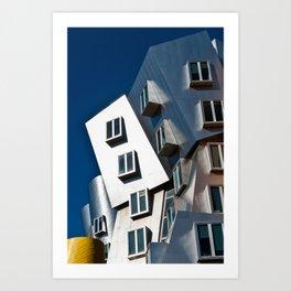 Boston MIT Art Print