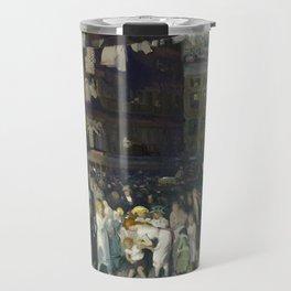 George Bellows - Cliff Dwellers, 1913 Travel Mug