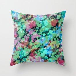 Abstract XXIV Throw Pillow