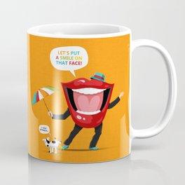 Put A Smile On Coffee Mug