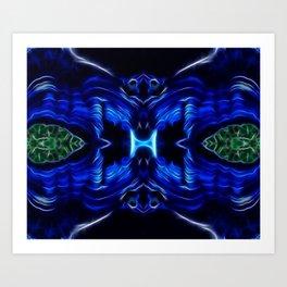 Azurite - Malachite Art Print